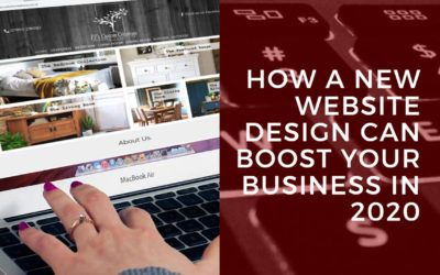 How a new website design can boost your business in 2020