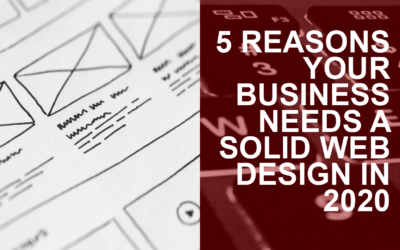 5 Reasons Your Business Needs a Solid Web Design in 2020