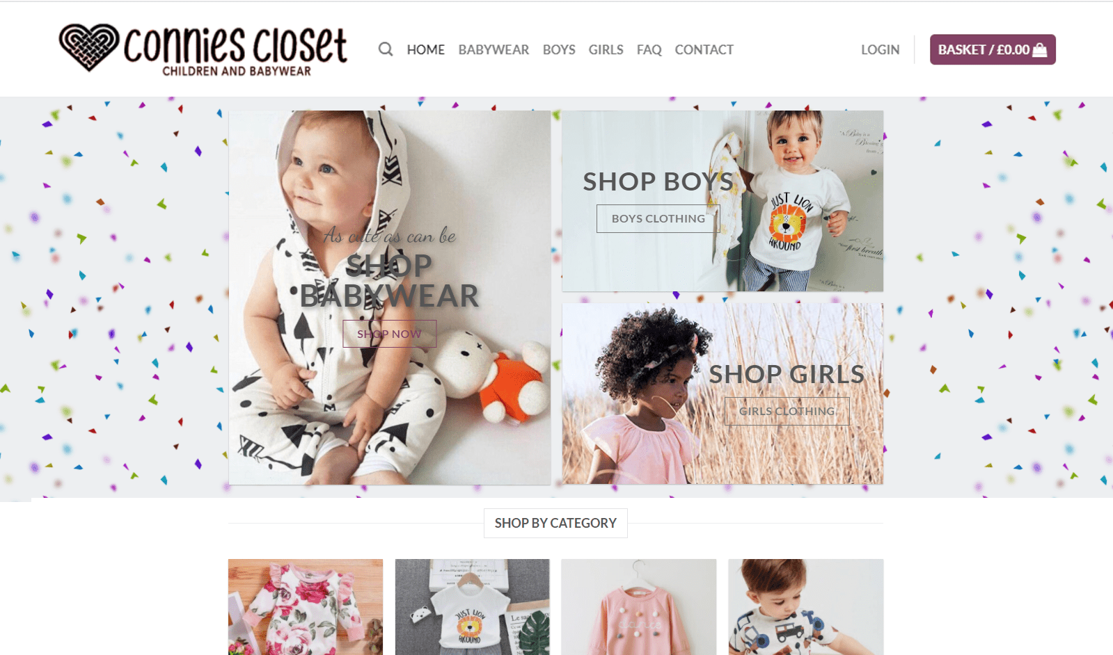 Connies Closet Website Preview 11